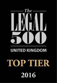 UK Legal 500 2016