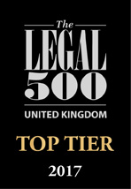 UK Top Tier Firm 2017