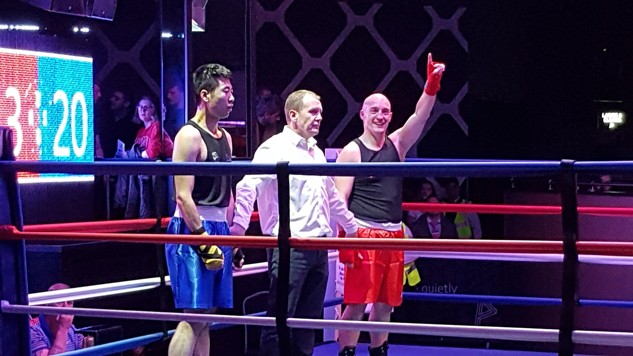 Adam Hodson Solicitor Personal Injury - fight for charity - 1058 pounds raised Sydney Mitchell LLP