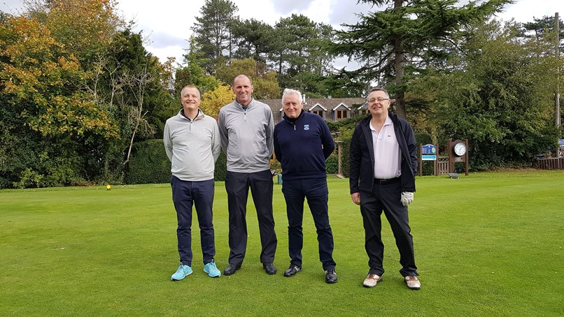 Sydney Mitchell Charity Golf raises £2600 for charity - Eastcote Wealth Management 2nd place