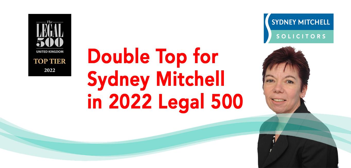 Sydney Mitchell Legal 500 Top Tier
