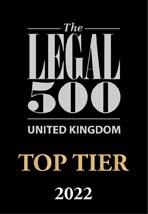 UK Top Tier Firm 2022
