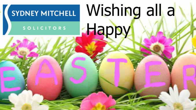 Happy Easter to All from Sydney Mitchell