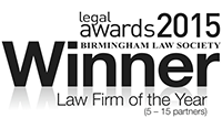 Birmingham Law Society Law Firm of the Year 2014