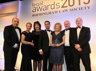 Law Firm of the Year 5-15 Partner Sydney Mitchell Birmingham Law Society