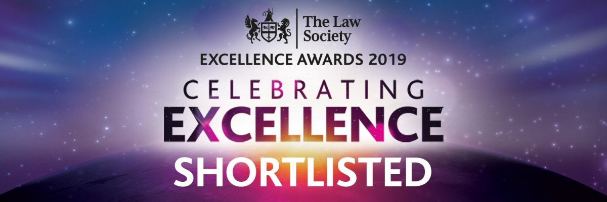 Sydney Mitchell Shortlisted in Excellence Awards 2019
