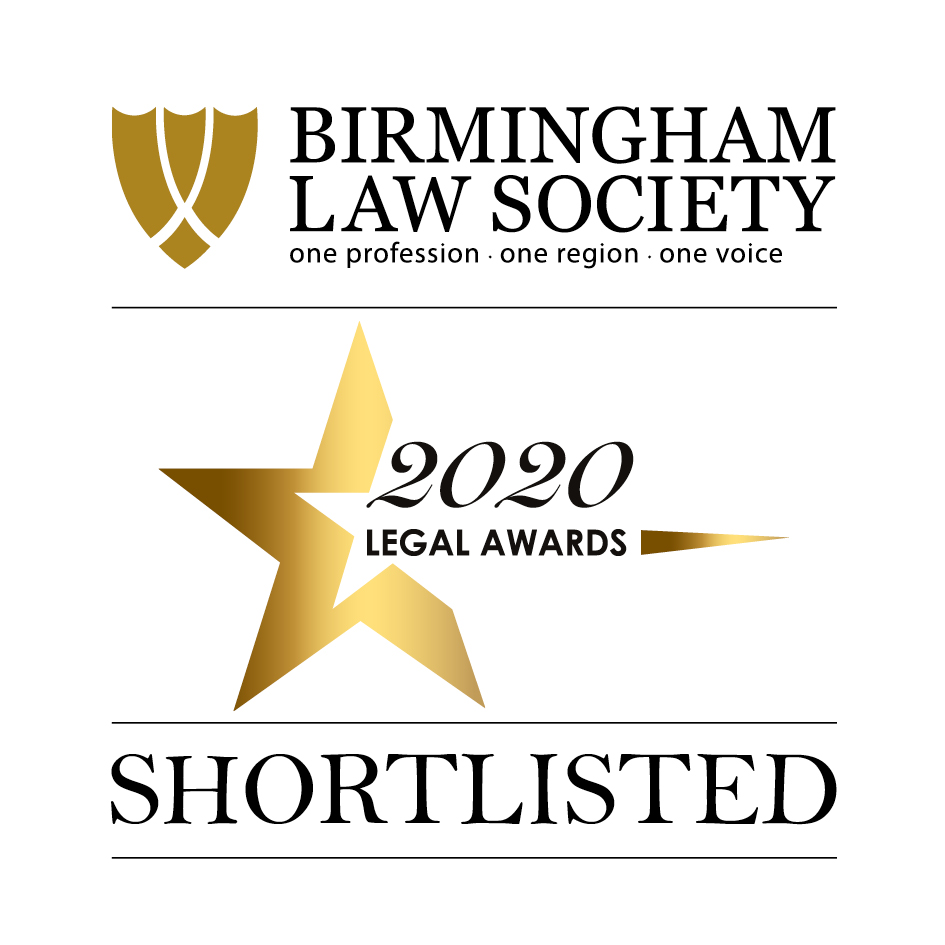 Birmingham Law Society Awards Shortlisted Sydney Mitchell LLP