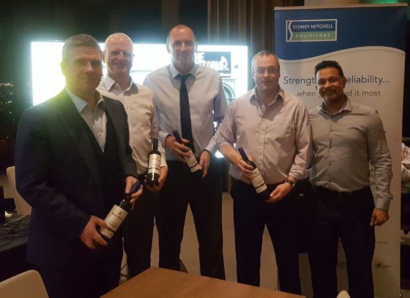 Sydney Mitchell Charity Quiz 2017 3rd Place Merito Financial Services