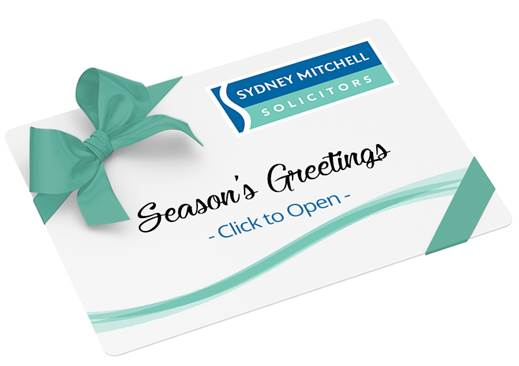 Merry Christmas from all at Sydney Mitchell LLP