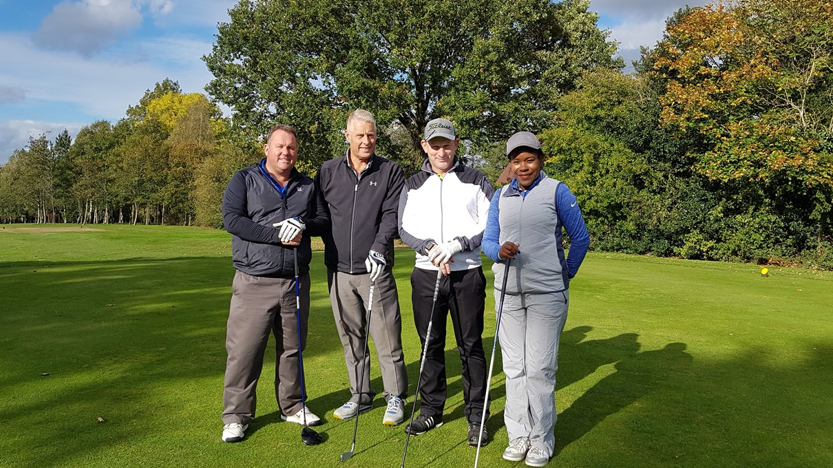 Sydney Mitchell Charity Golf raises £2600 for charity - Winners Midway Care Group