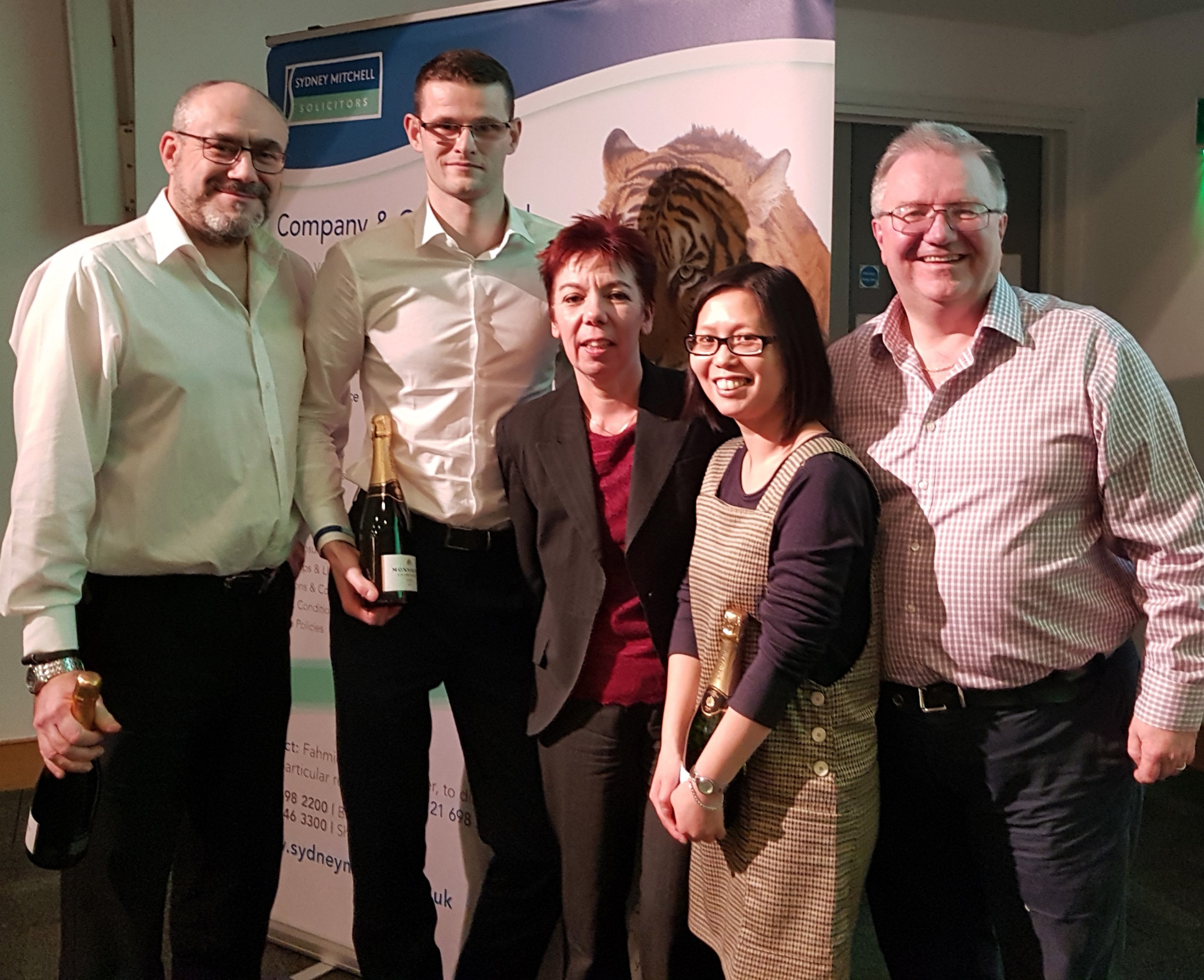 Sydney Mitchell Charity Quiz Winners - Dains Chartered Accountants