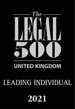 Leading Individuals Legal 500 Solicitors UK