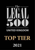 Top Tier Legal 500 for Sydney Mitchell LLP